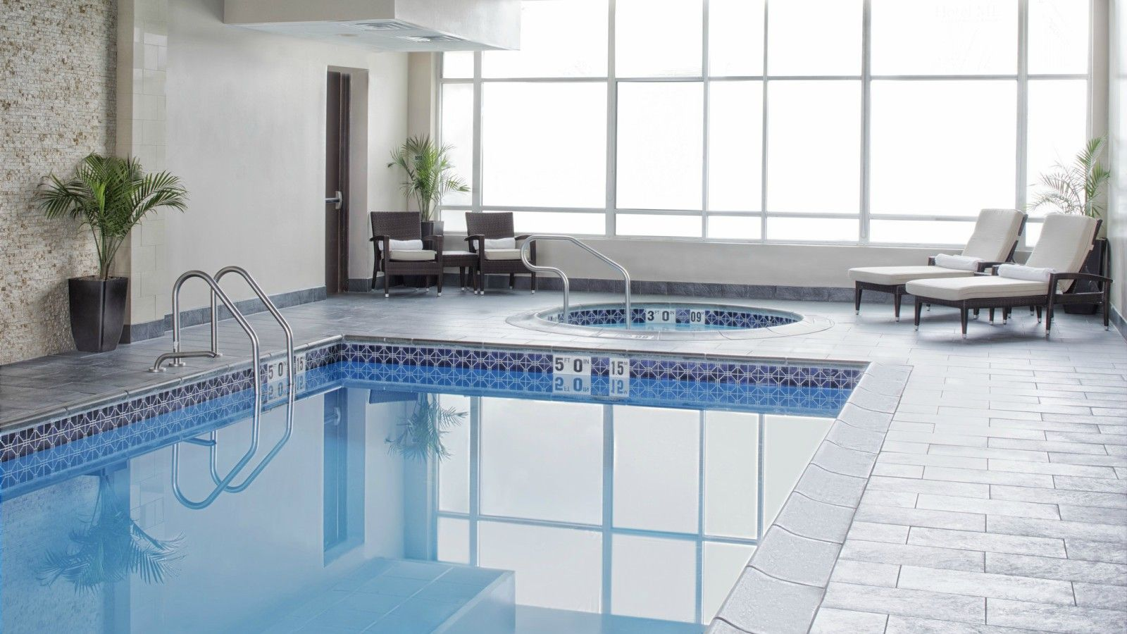 Hotel Features - Indoor Pool & Whirlpool